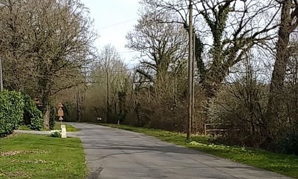 Country lane south of Horsham