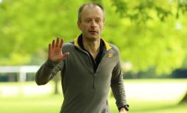 Clive Walker running at parkrun