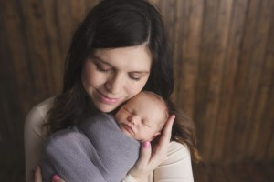 Mother and son Newborn Photography
