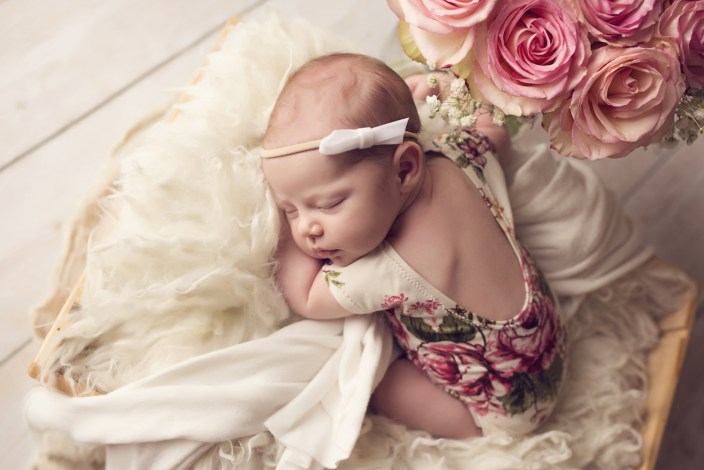 Luxury Newborn Baby Girl Keller TX Luxury Newborn Photographer Frisco TX CLJ Photography