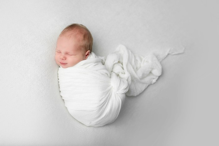 simple Newborn Baby Boy Photography