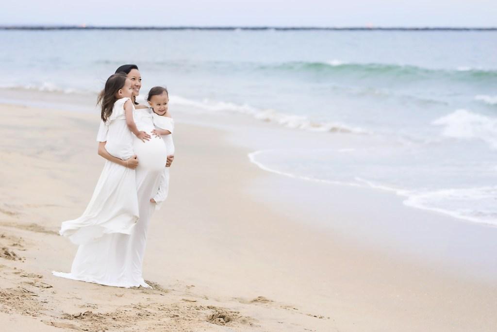 California Beach Maternity Photographer Dallas TX CLJ Photography
