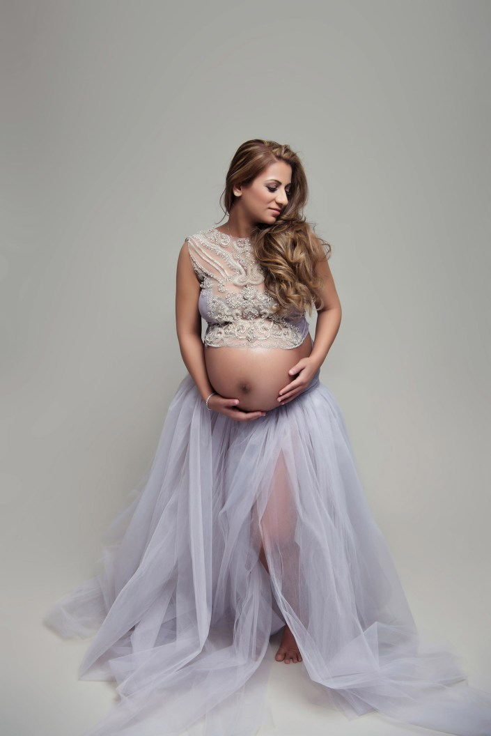 Dallas Maternity and Newborn Photographer Studio Maternity Photographer CLJ Photography Dallas TX