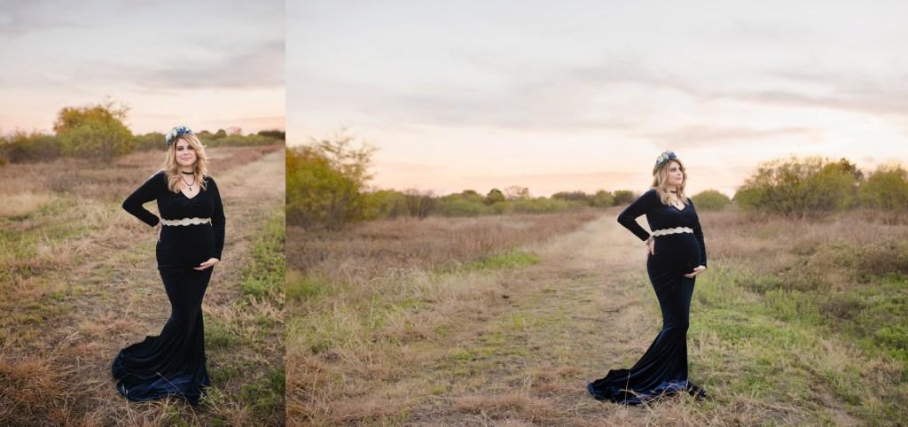 Southern Pregnancy Photo Shoot Dallas Maternity Photographer CLJ Photography