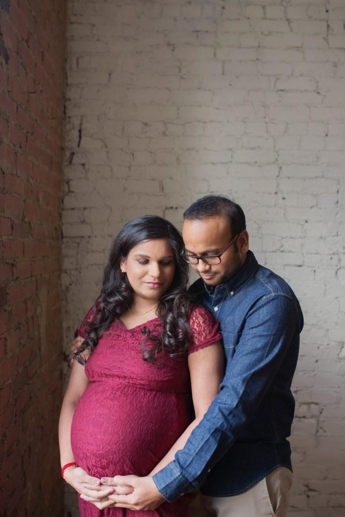 Dallas TX Studio Maternity Photo Shoot CLJ Photography Dallas TX