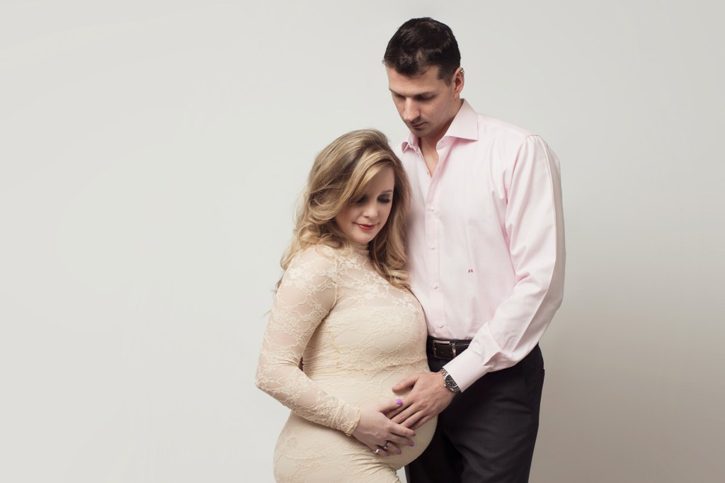 Dallas Maternity and Newborn Photographer CLJ Photography Studio Pregnancy Portraits