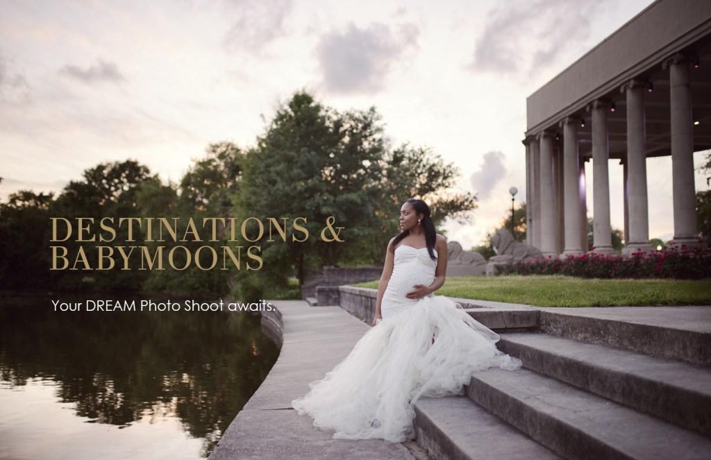 Dallas Maternity Photographer CLJ photography Destination Babymoon Photo Shoot Pricing Details