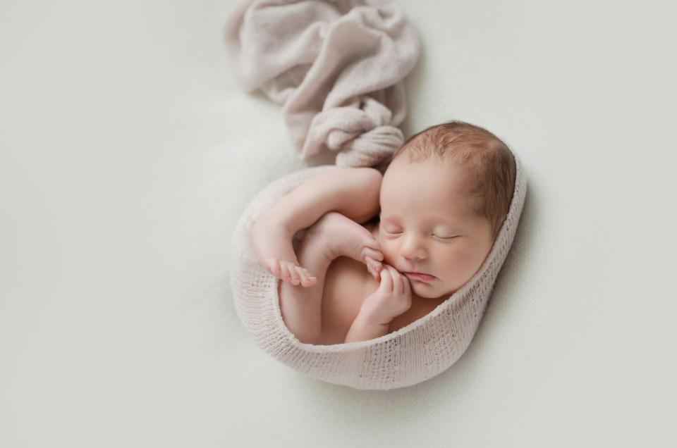 Dallas Newborn Photographer Baby Girl Studio Photo Shoot CLJ photography