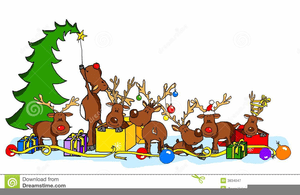funny christmas party clipart