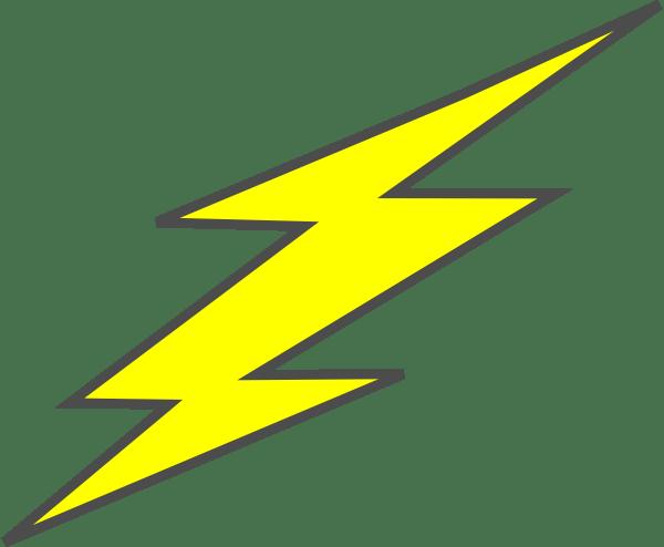 Vector Art Lighting Bolt