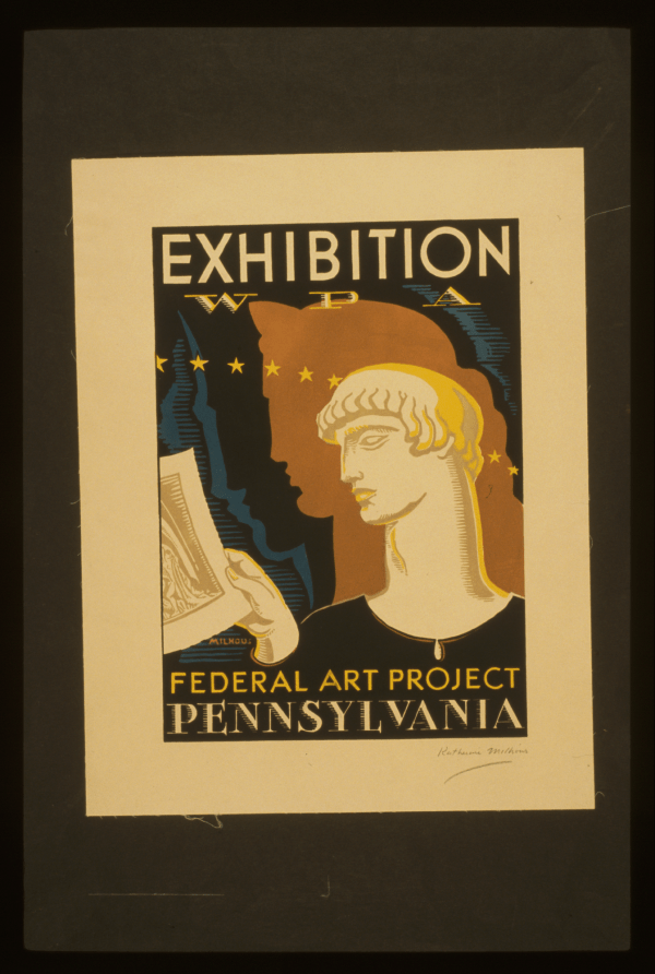 Exhibition Pennsylvania WPA Federal Art Project