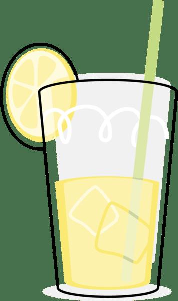 glass of lemonade free