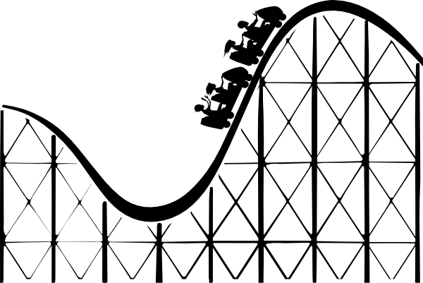 Image result for rollercoaster cartoon drawing