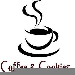 coffee and cookies clipart free
