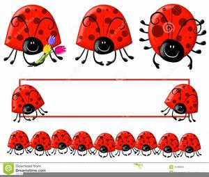 free ladybug border clipart