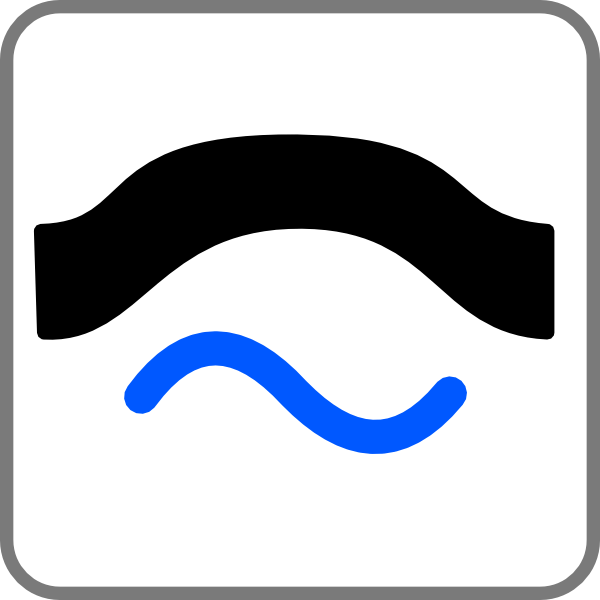 Bridge Sign Clip Art At Vector Clip Art Online
