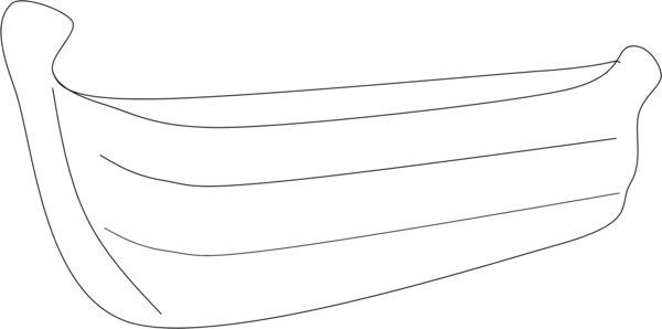 Row Boat: Row Boat Outline