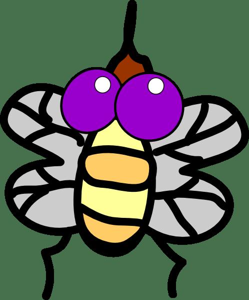 fly clip art - vector