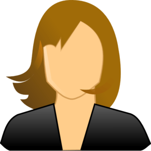 Faceless Woman Clip Art