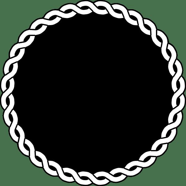 Clip Rope Border Art Vector