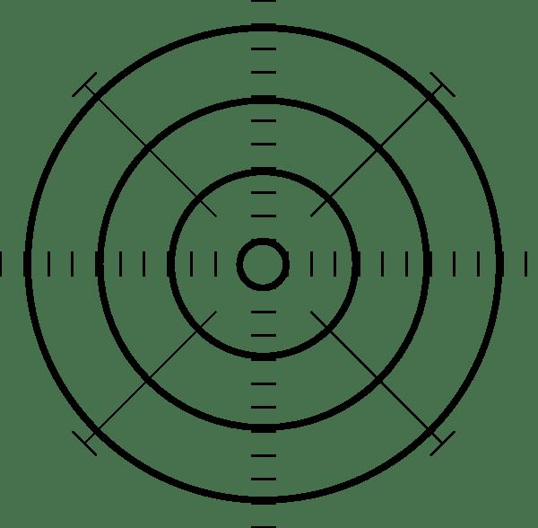Printable Target W/ No Bullseye Clip Art at Clker.com
