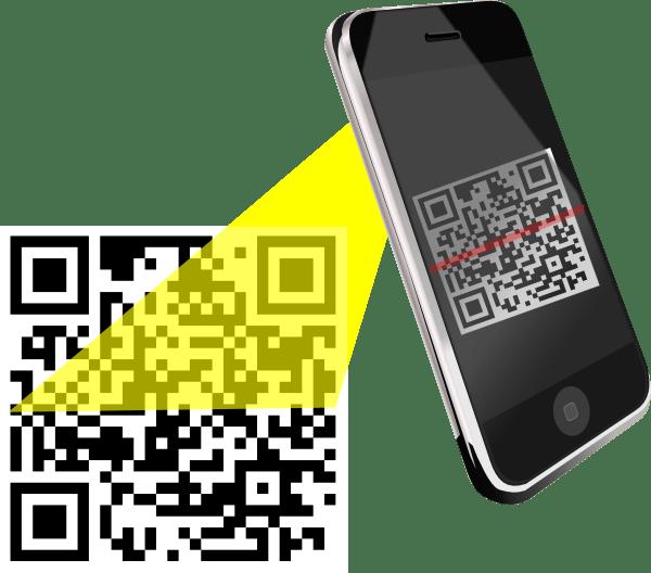 Barcode Scanner Clip Art