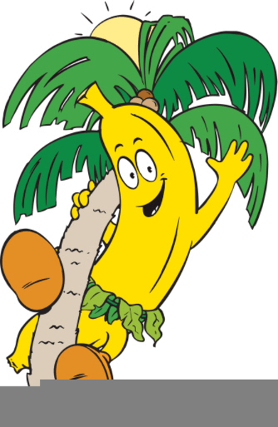 clipart banana tree free