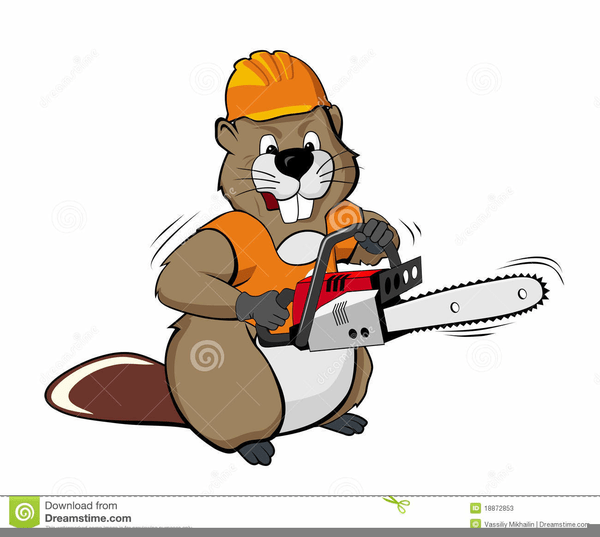 cartoon chainsaw clipart free
