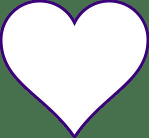 heart clip art - vector