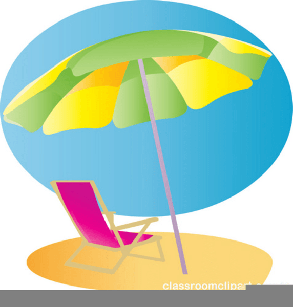 beach chair and umbrella clipart union jack free images at clker com vector image