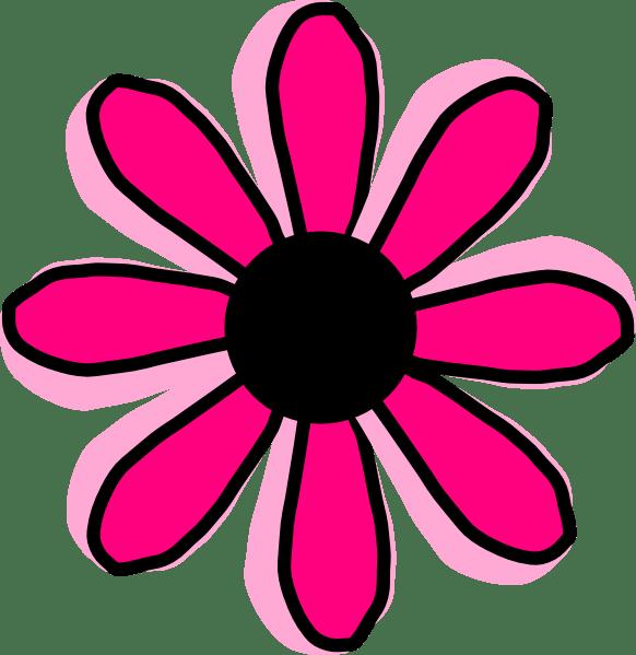 pink flower 12 clip art