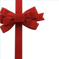 Tie Gift Wrap Bow X   Free Images at Clker.com - vector ...