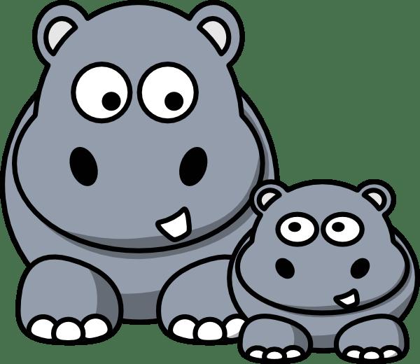 Hippo Clip Art at Clkercom vector clip art online