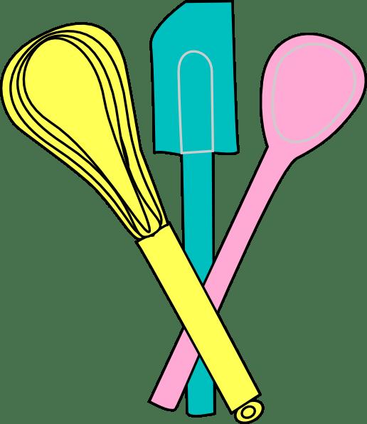 baking utensils clip art