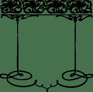 paisley border clip art