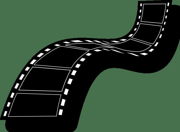Dniezby Film Strip Free - Vector