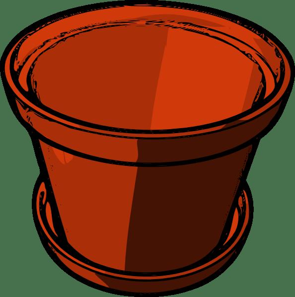 empty flowerpot clip art