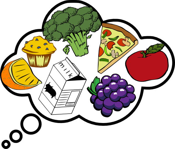 food thought clip art