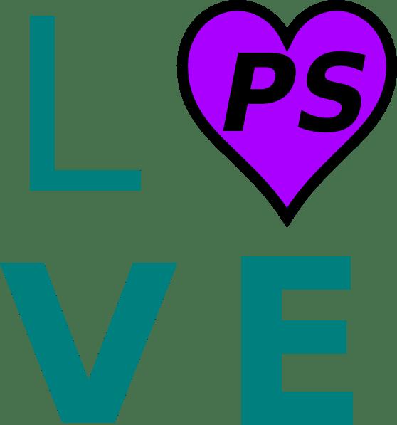 Download Love Ps Clip Art at Clker.com - vector clip art online ...