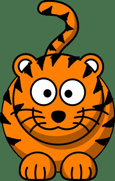 cartoon tiger clip art