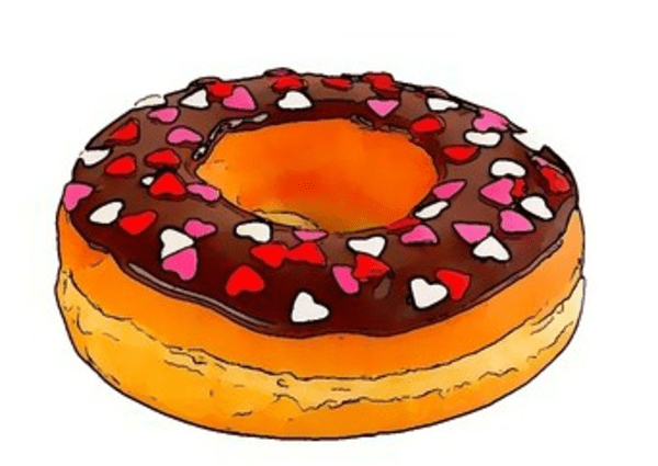 Donut  Free Images at Clkercom  vector clip art online