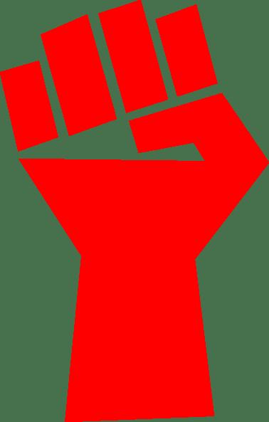 red fist clip art