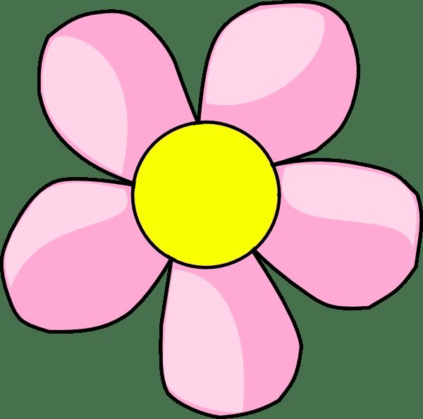 pink flower 10 clip art
