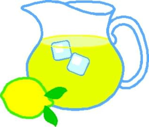 free clipart lemonade pitcher