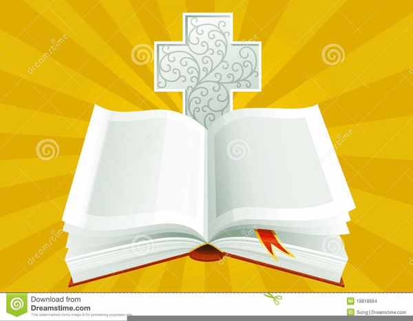 clipart open bible and