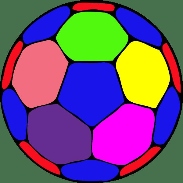 color handball ball free