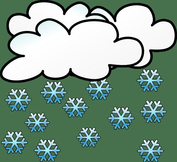 snowing clip art