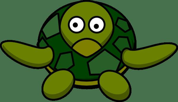 cute turtle clip art