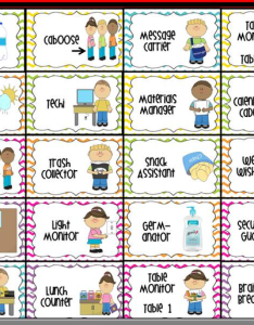 Free classroom job chart clipart image also images at clker vector rh