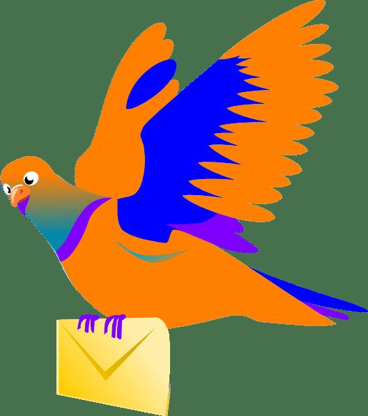 Email Message Bird Clip Art At Vector Clip Art